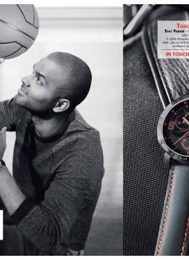 Tissot lance sa montre Tony Parker