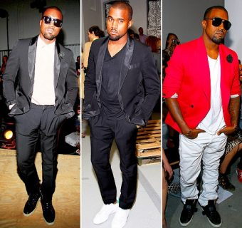 Kanye West, l'inclassable fashionisto!