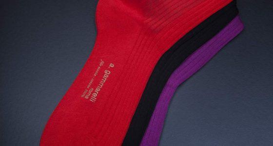 Des chaussettes sacrées