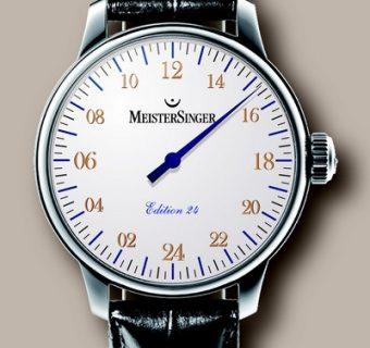 La montre à aiguille unique…