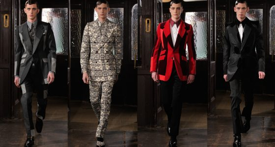 London Men Fashion Week 2013 : Alexander McQueen
