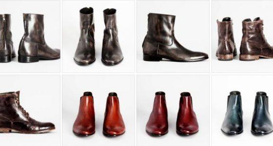 Chaussures Pete Sorensen, premiers pas…
