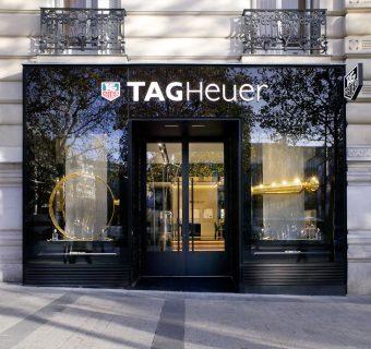 Nouveau flagship parisien pour Tag Heuer