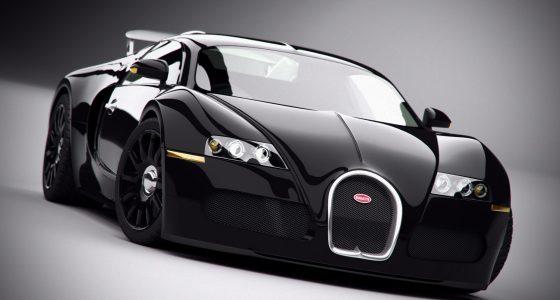 Bugatti Veyron & Audi A7 : noires, élégantes, puissantes!