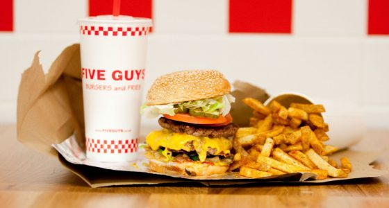 Ouverture de Five Guys Paris