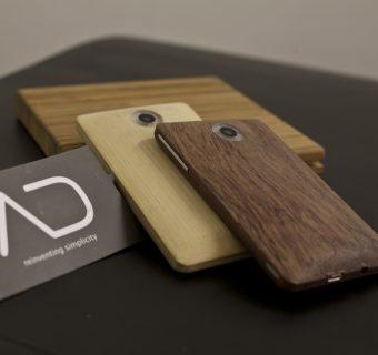 Le smartphone en bambou